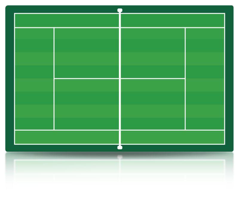 Clipart - Tennis Court