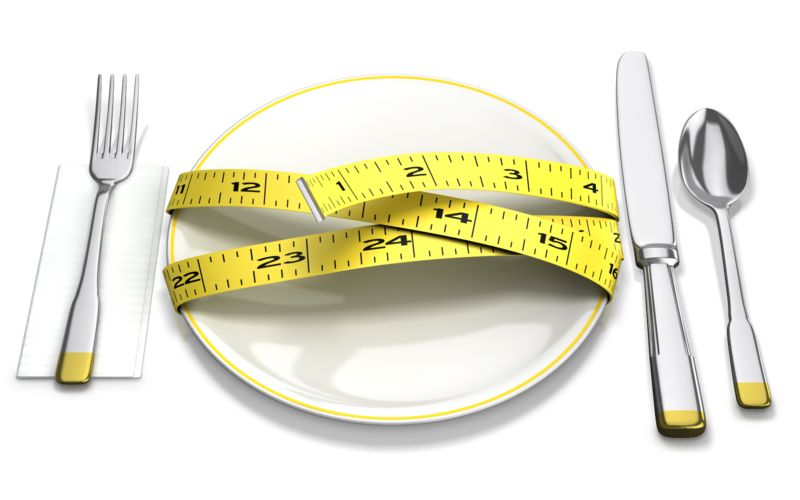 Clipart - Tape Measure Around Plate