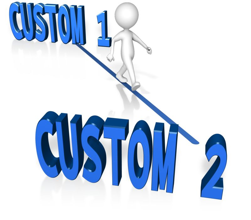 This Presentation Clipart shows a preview of Custom A To B Quickest Way