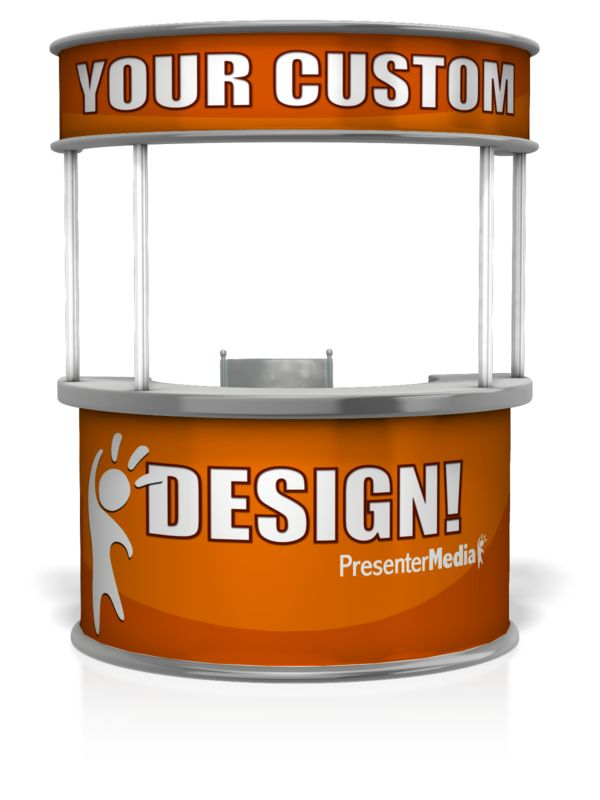 This Presentation Clipart shows a preview of Help Desk Custom