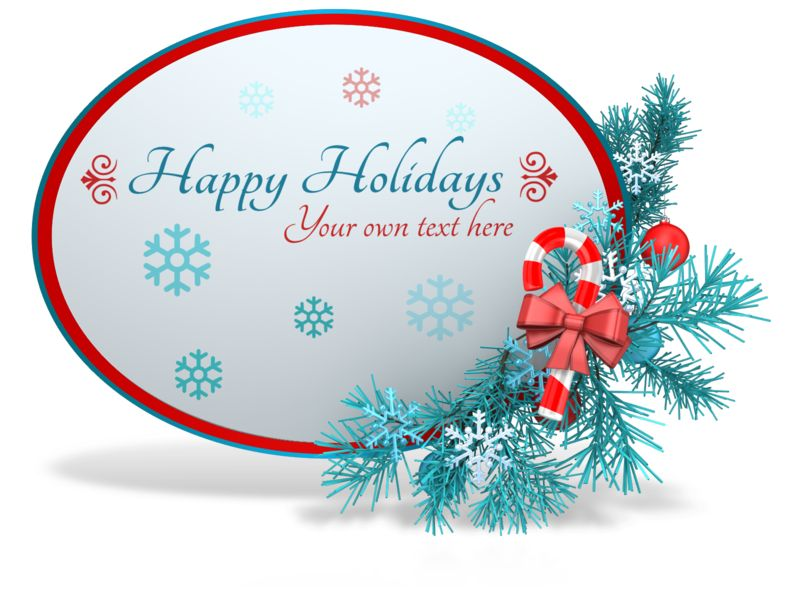 This Presentation Clipart shows a preview of Custom Festive Christmas Sphere