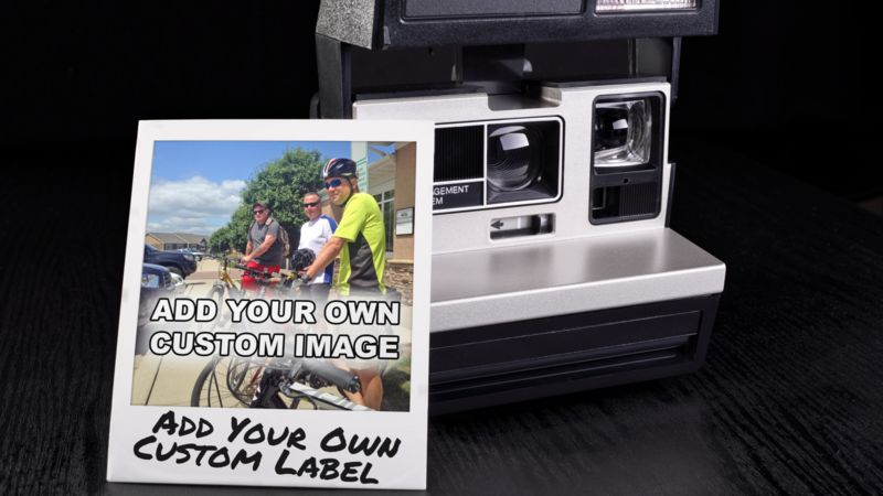 This Presentation Clipart shows a preview of Instant Photo Memory Custom
