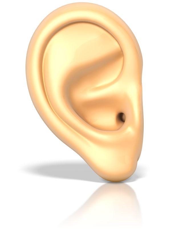 Clipart - An Ear