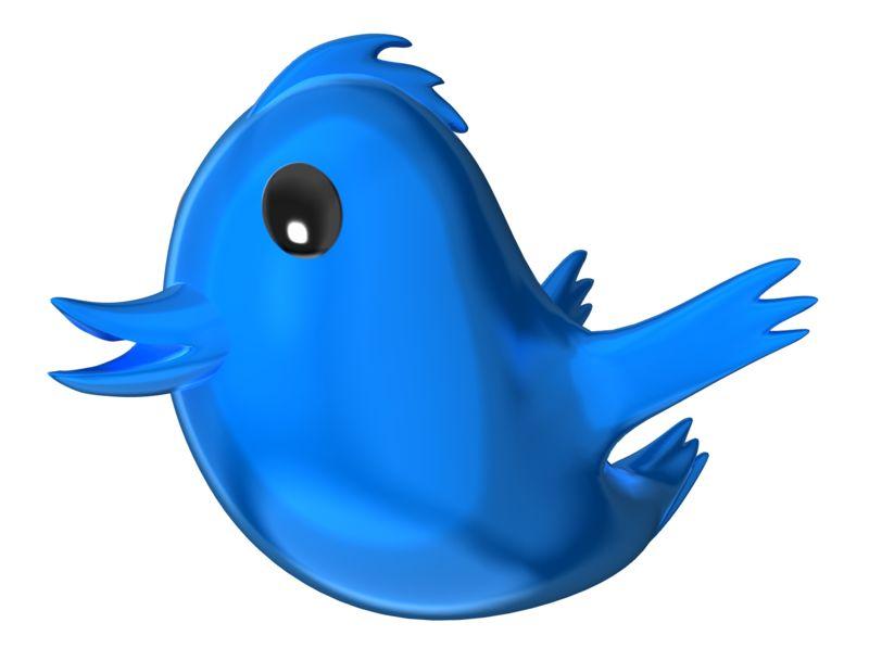 Clipart - Social Media Bird