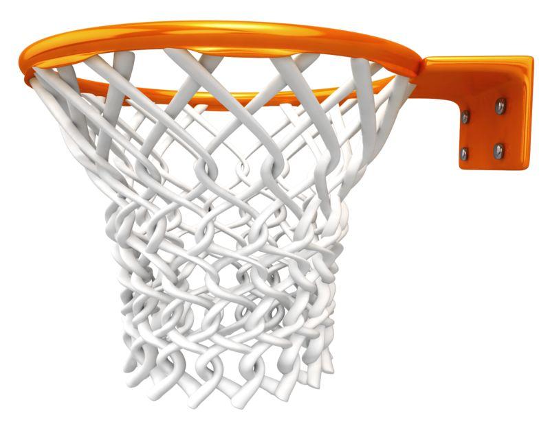 Clipart - Basketball Rim Net