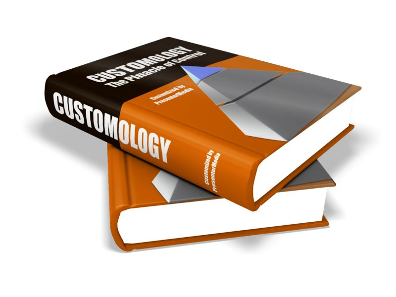 This Presentation Clipart shows a preview of Custom Textbooks
