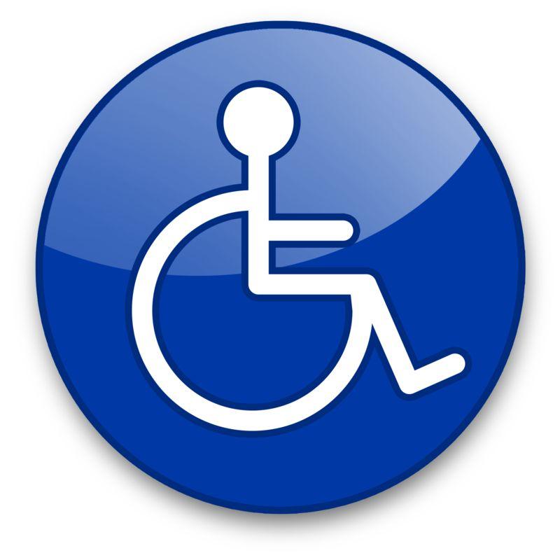 Clipart - Handicap Button