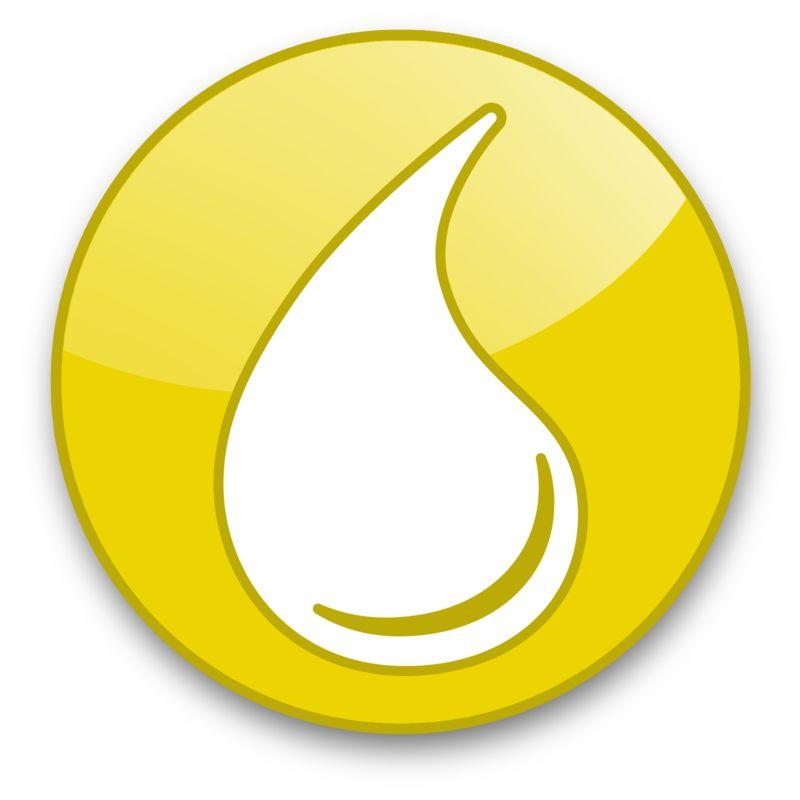 Clipart - Liquid Drop Button