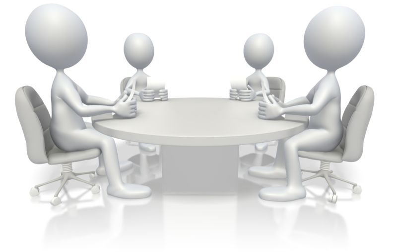 Clipart - Conference Meeting