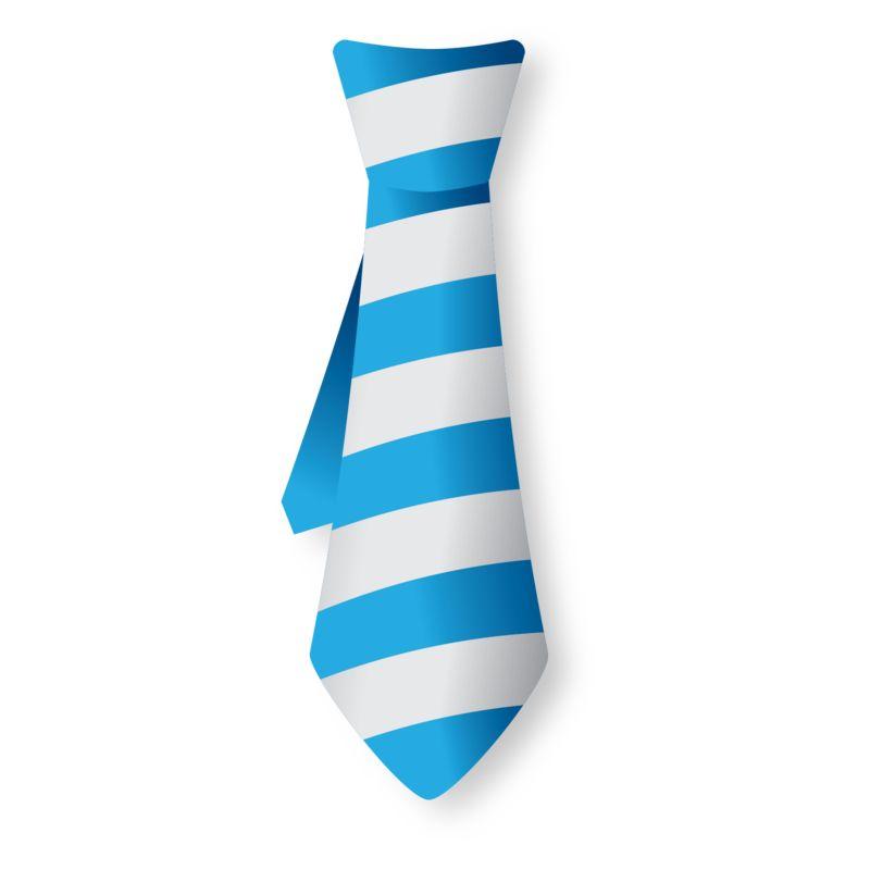 Clipart - Striped Tie