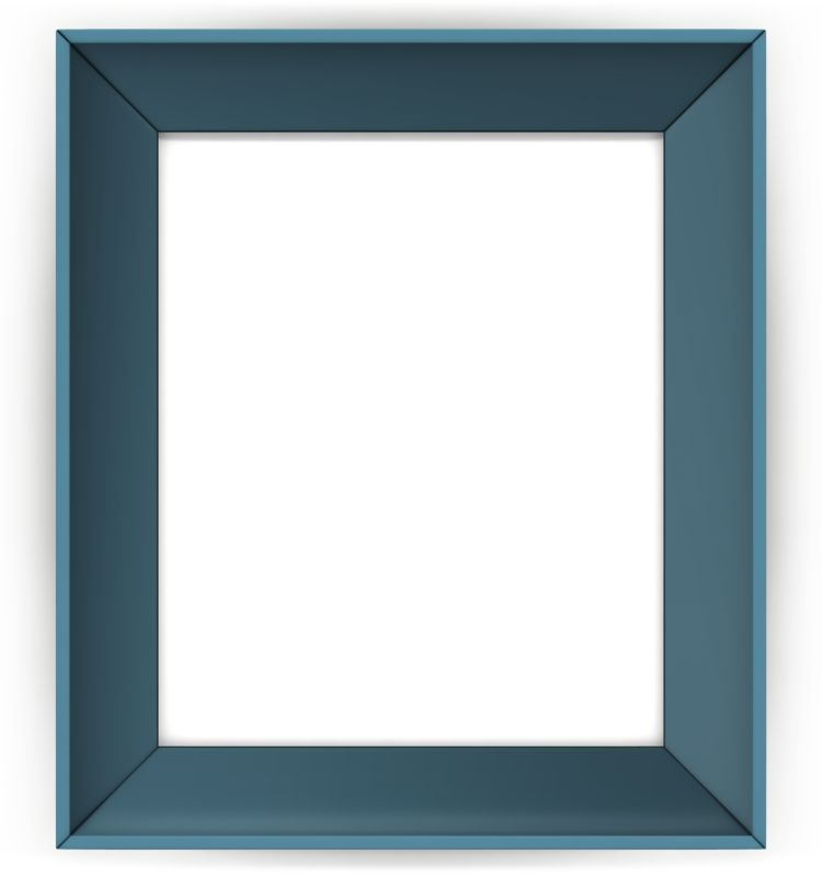 Clipart - Picture Colored Frame