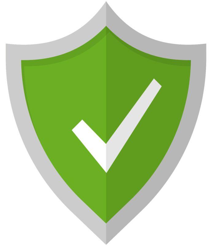 Clipart - Check Mark Shield