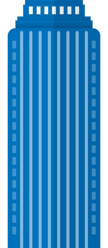 Clipart - City High Rise Building