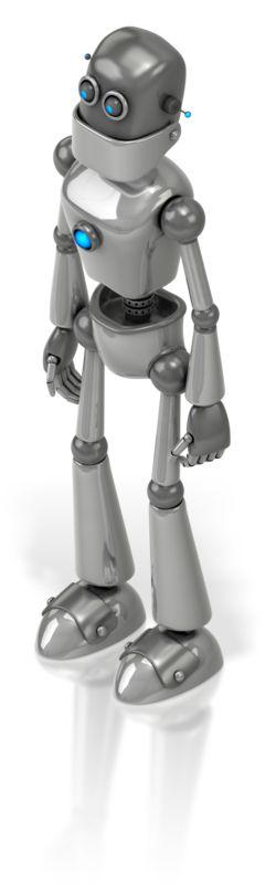 Clipart - Retro Robot