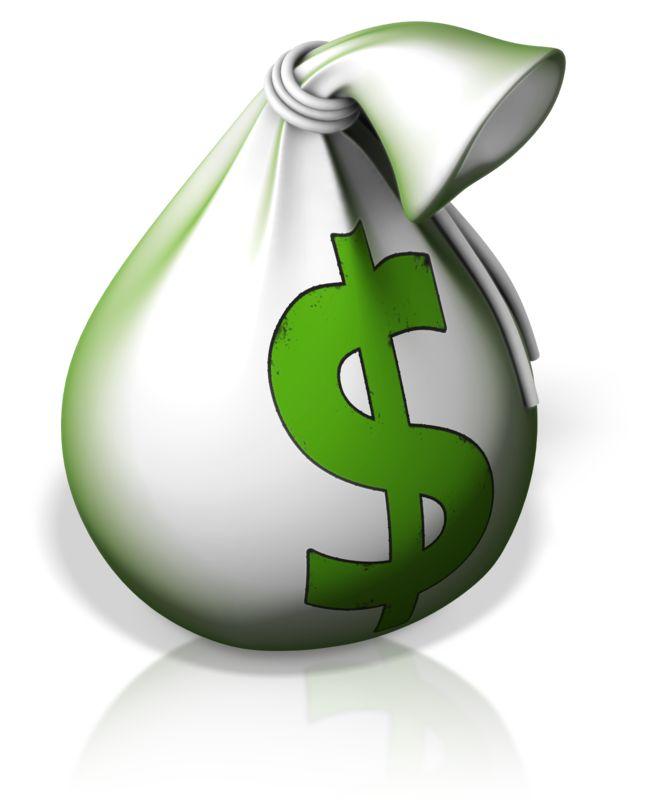 Clipart - Money Bag