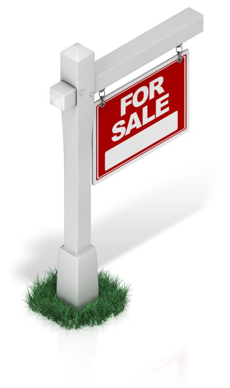 Clipart - Real Estate Sign