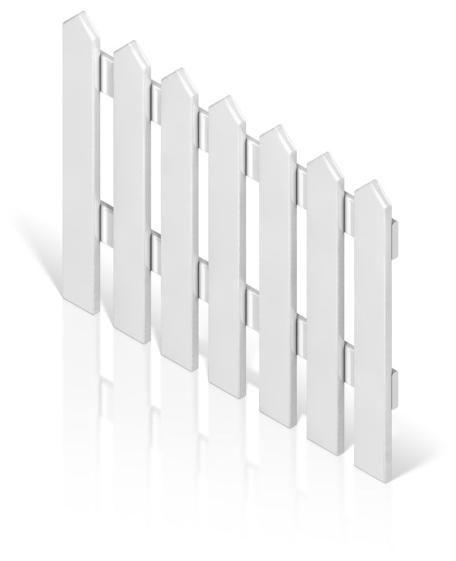 Clipart - Picket Fence