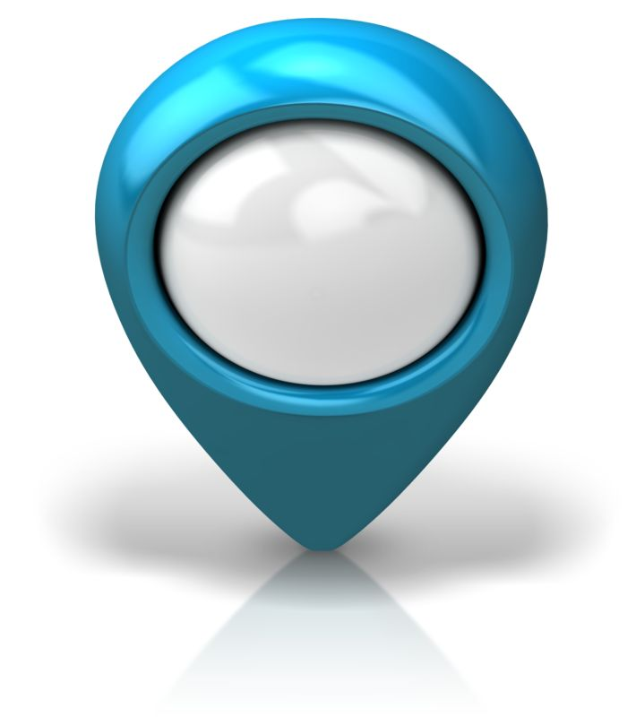Clipart - Location Pointer Front Isometric
