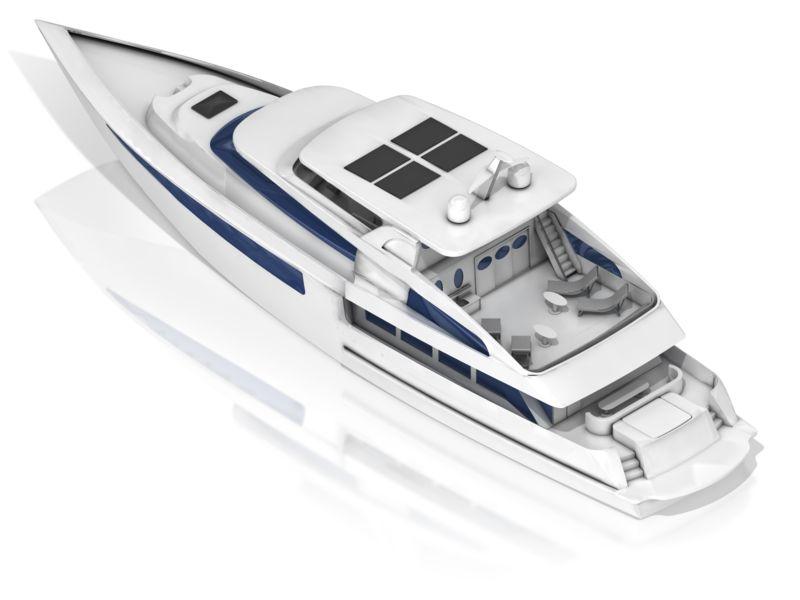 Clipart - Yacht