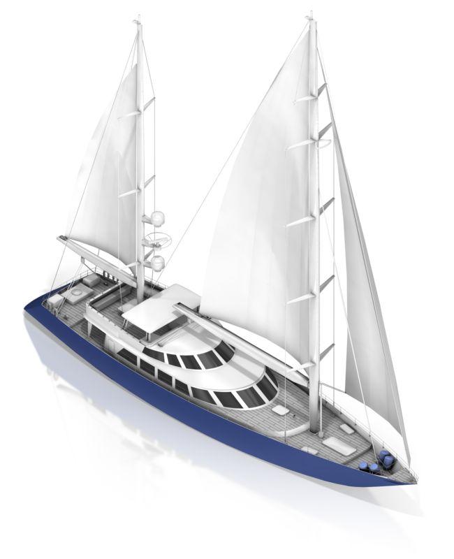 Clipart - Sail Boat