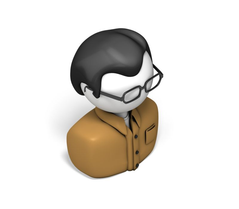 Clipart - Casual Worker