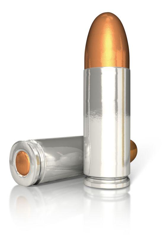 Clipart - Two Pistol Bullets
