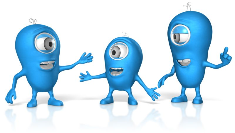 Clipart - Characters In Conversation
