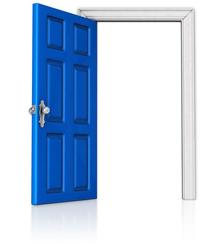 Clipart - Door that is Open