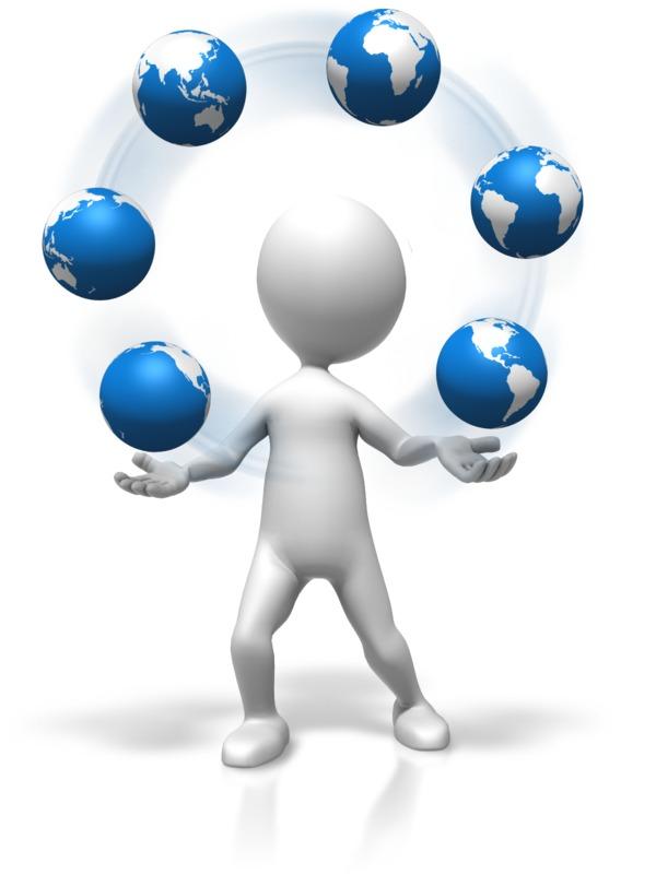Clipart - Figure Juggling World
