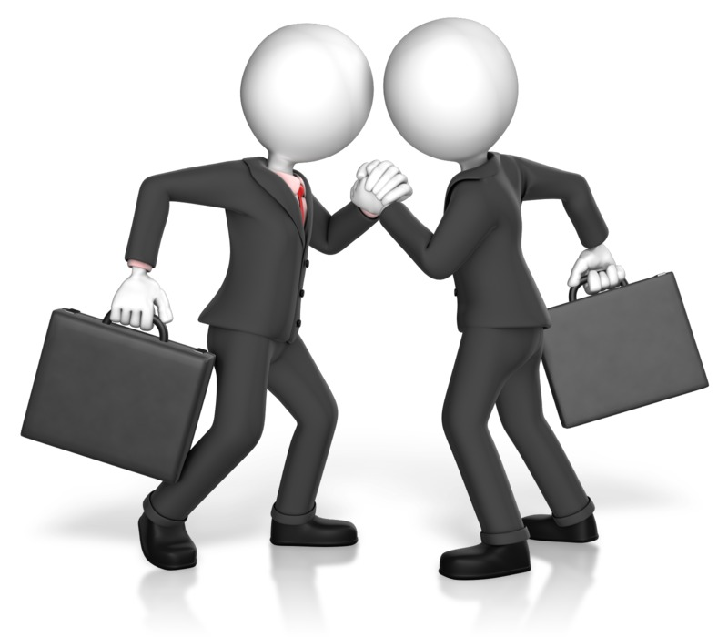 Clipart - Business Arm Strength