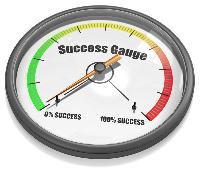This Presentation Clipart shows a preview of Gauge Needle Min