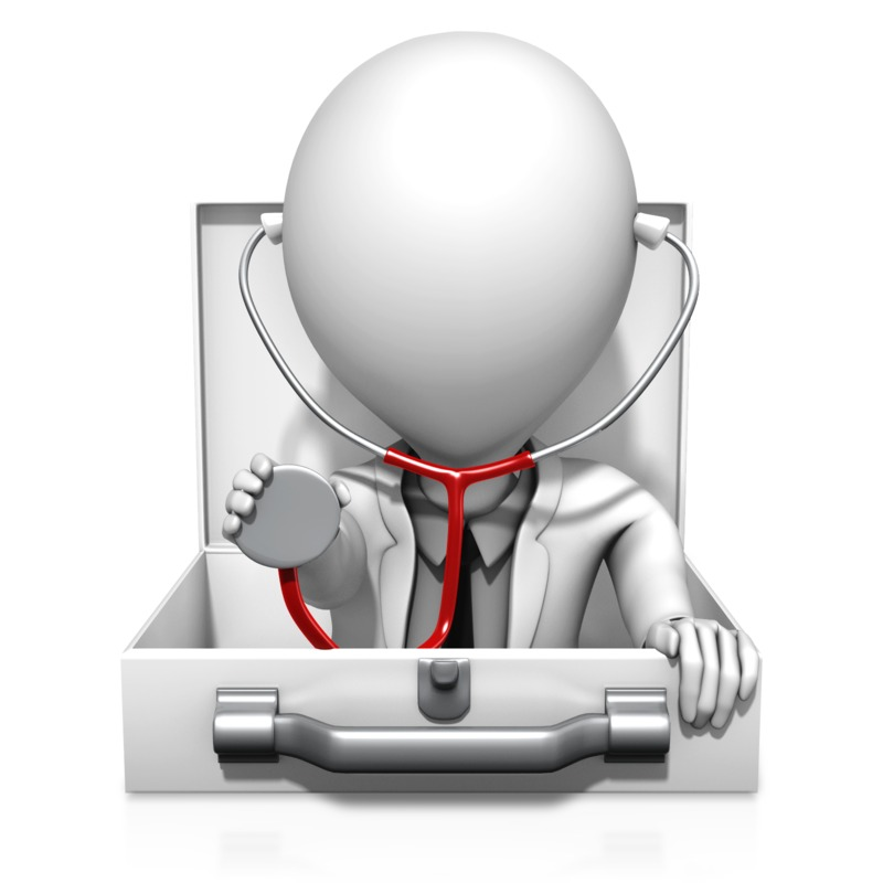 Clipart - Medical Inquiry Doctor