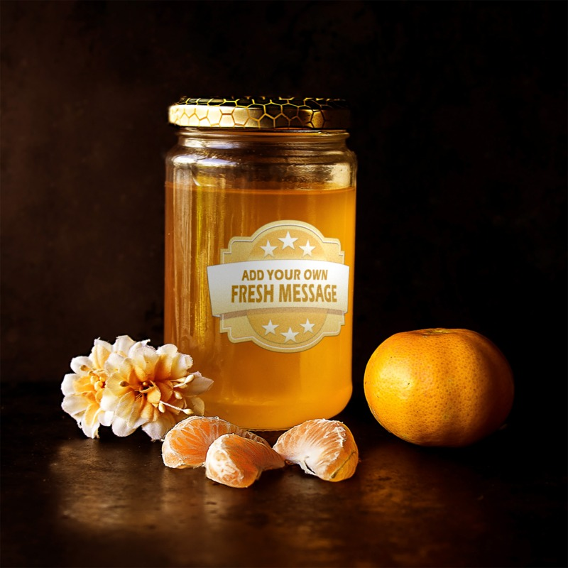 This Presentation Clipart shows a preview of Honey Jar