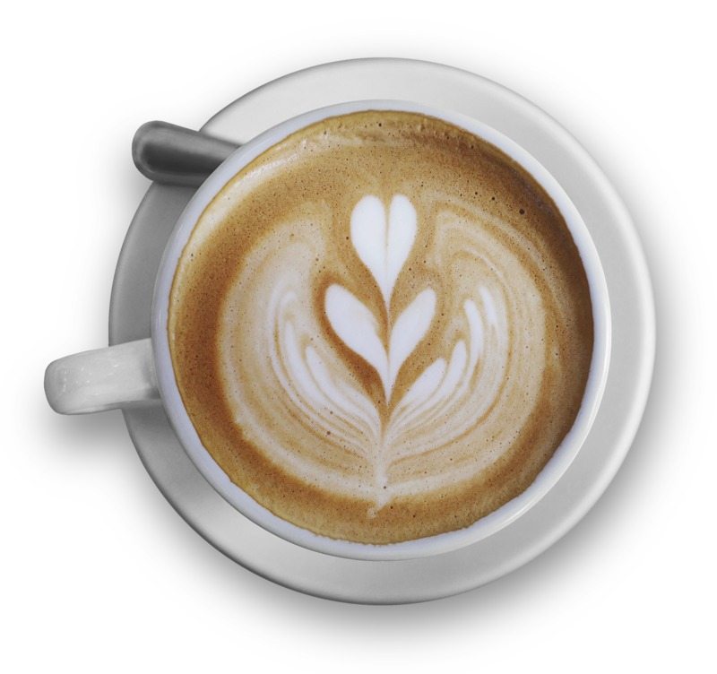 Clipart - Top Of The Cappuccino