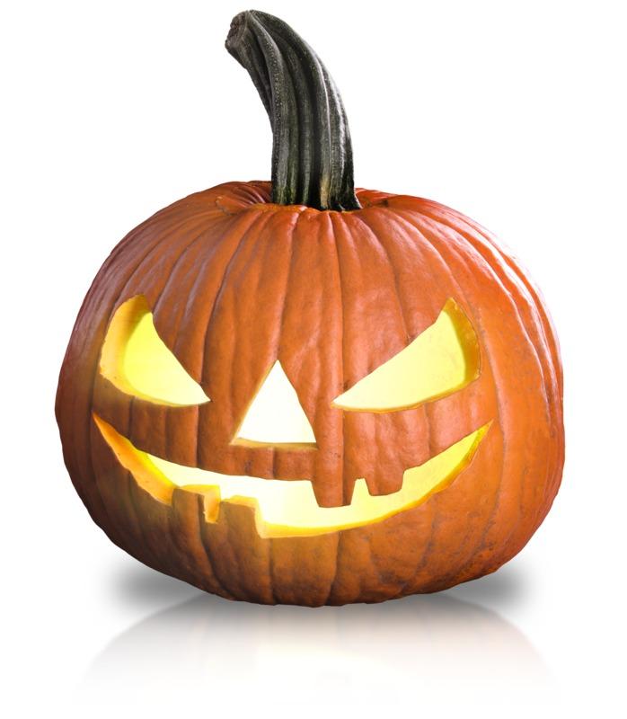 Clipart - Scary Pumpkin Fun