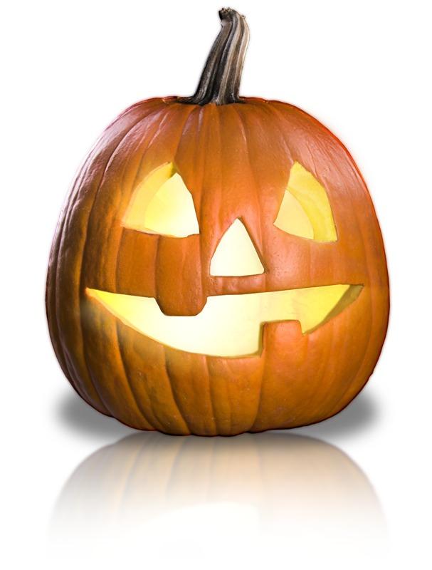 Clipart - Friendly Pumpkin Fun