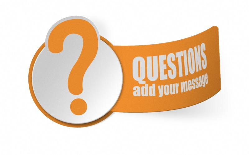 This Presentation Clipart shows a preview of Paper Question Mark