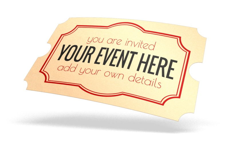 This Presentation Clipart shows a preview of Ticket Custom
