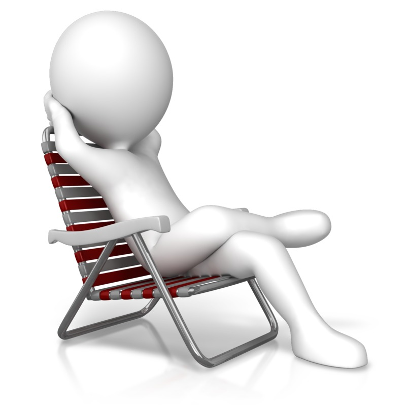 Clipart - Relaxation In A Chair