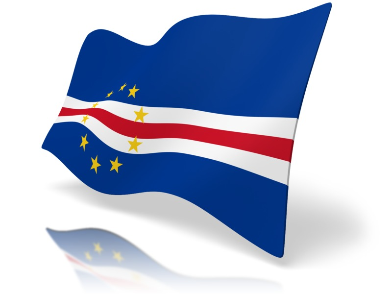 Clipart - Flag Cape Verde