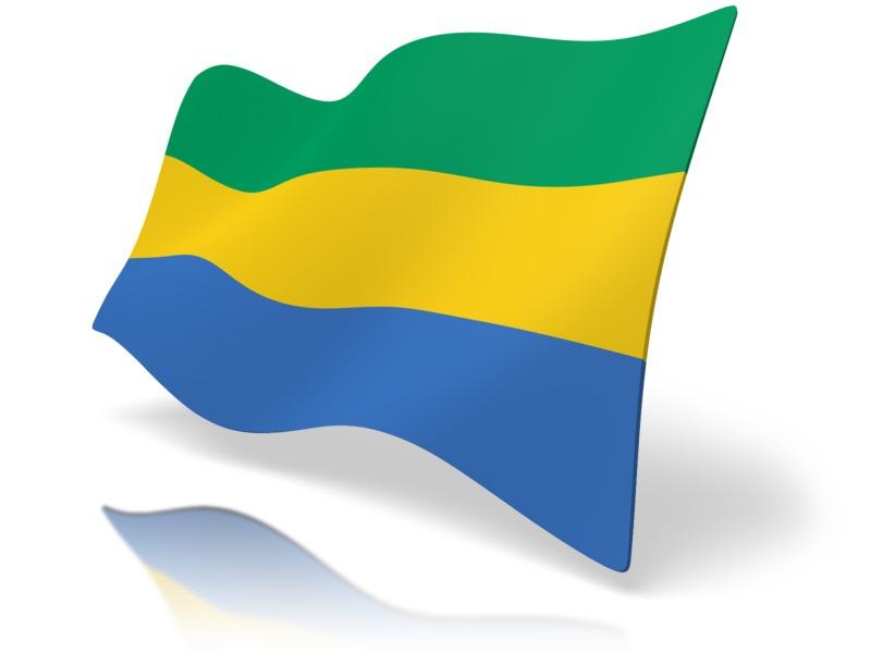 Clipart - Flag Gabon