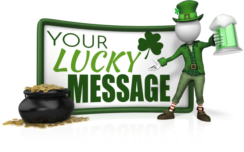 This Presentation Clipart shows a preview of Leprechaun Sign Beer Pot Gold
