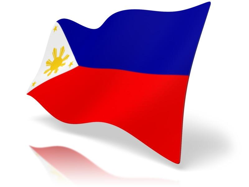 Clipart - Flag Philippines