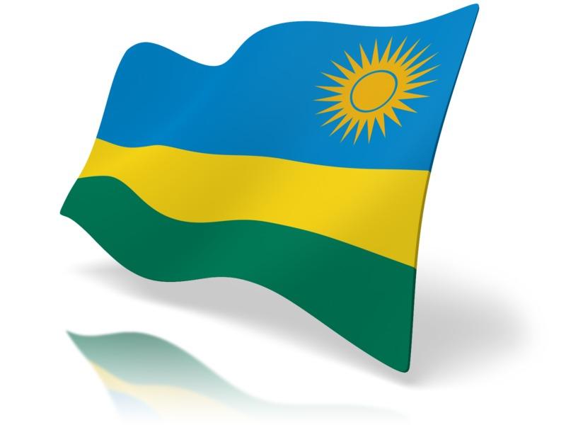 Clipart - Flag Rawnda