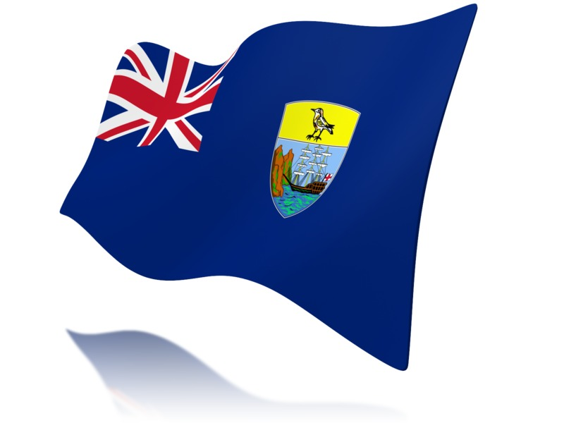 Clipart - Flag Saint Helena Ascension And Tristan