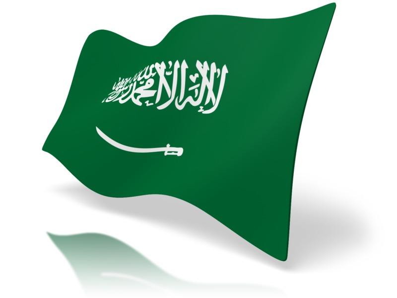 Clipart - Flag Saudi Arabia