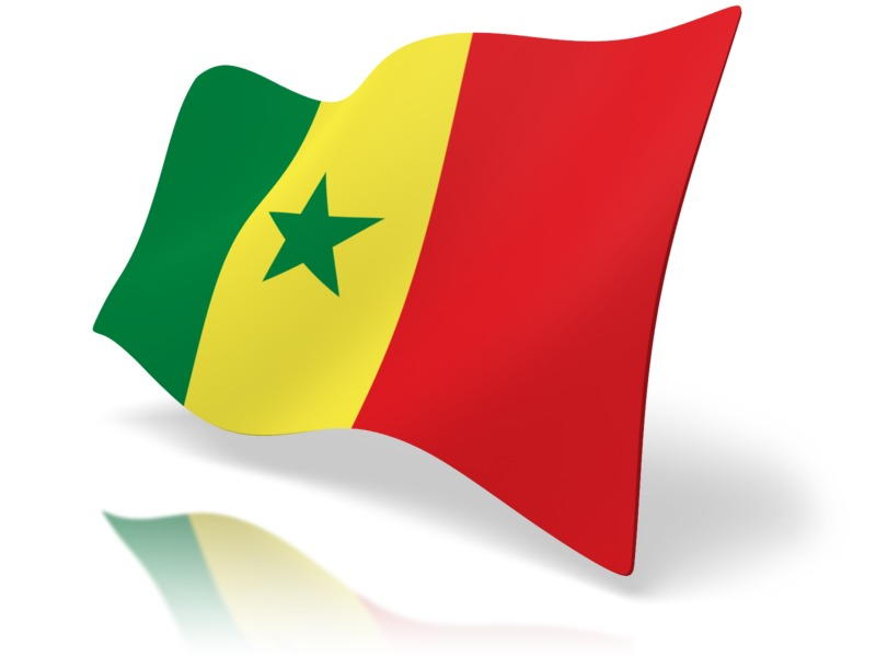 Clipart - Flag Senegal