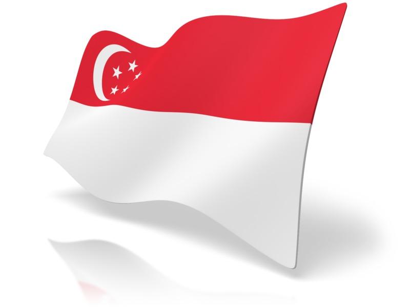 Clipart - Flag Singapore