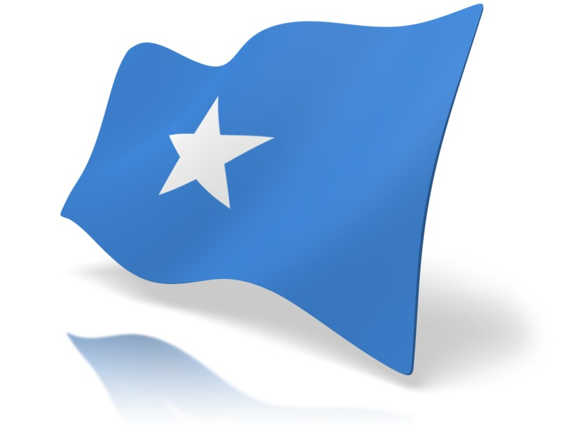 Clipart - Flag Somalia