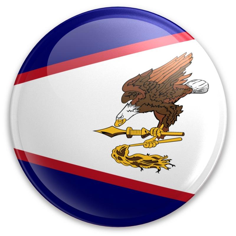 Clipart - Badge of American Samoa